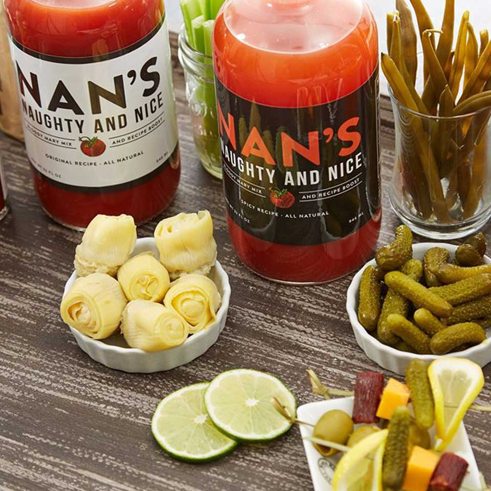 Nan's Naughty and Nice Bloody Mary Mix Wisconsin